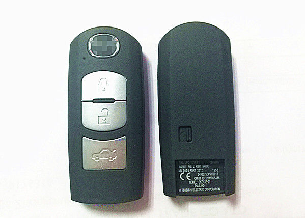 SKE13E-01 Mazda Smart Key , Plastic Material 433 MHZ 3 Button Key Fob