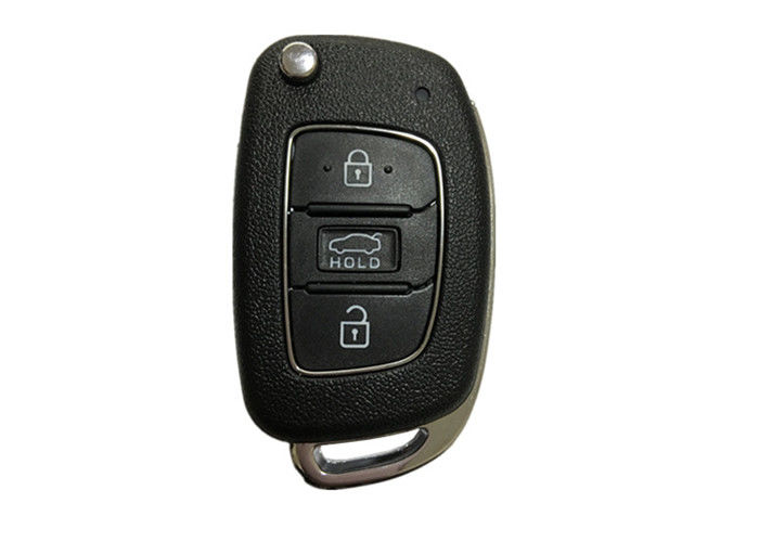 4D60 80 BIT Chip Hyundai Car Key Fob OKA-421T ADc-TP CR2032 Battery Black Color